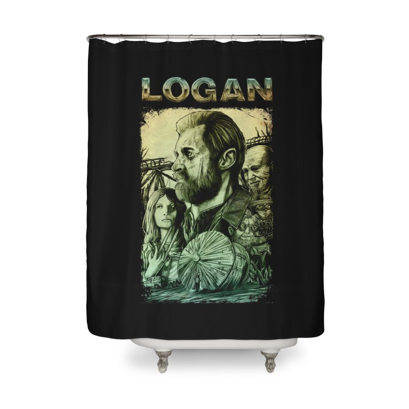 LOGAN - X23 Home Shower Curtain by T.JEF