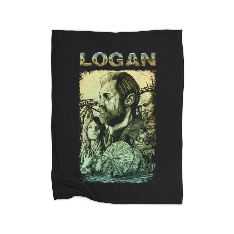 LOGAN - X23 Home Blanket by T.JEF
