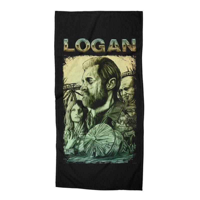 LOGAN - X23 Accessories Beach Towel by T.JEF