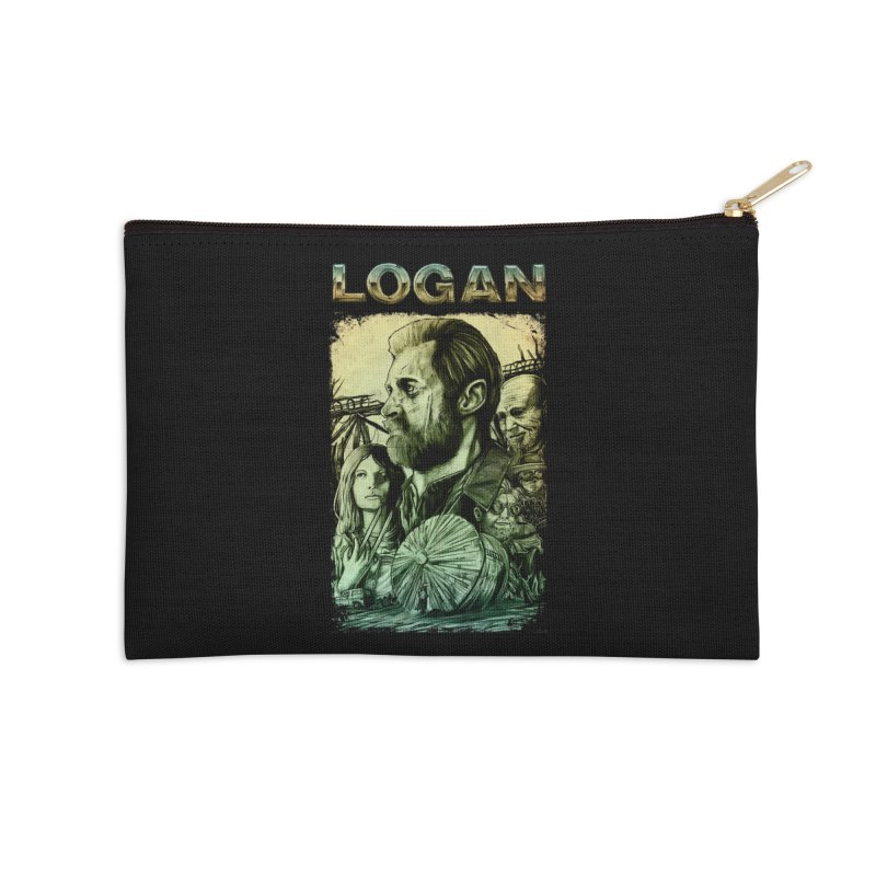 LOGAN - X23 Accessories Zip Pouch by T.JEF