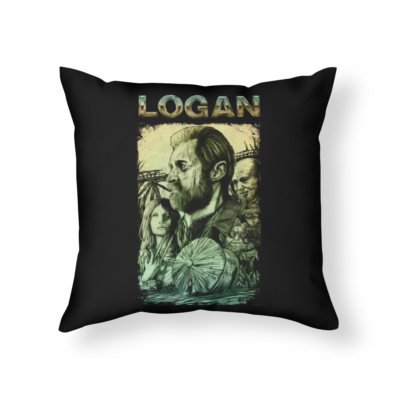 LOGAN - X23 Home Throw Pillow by T.JEF