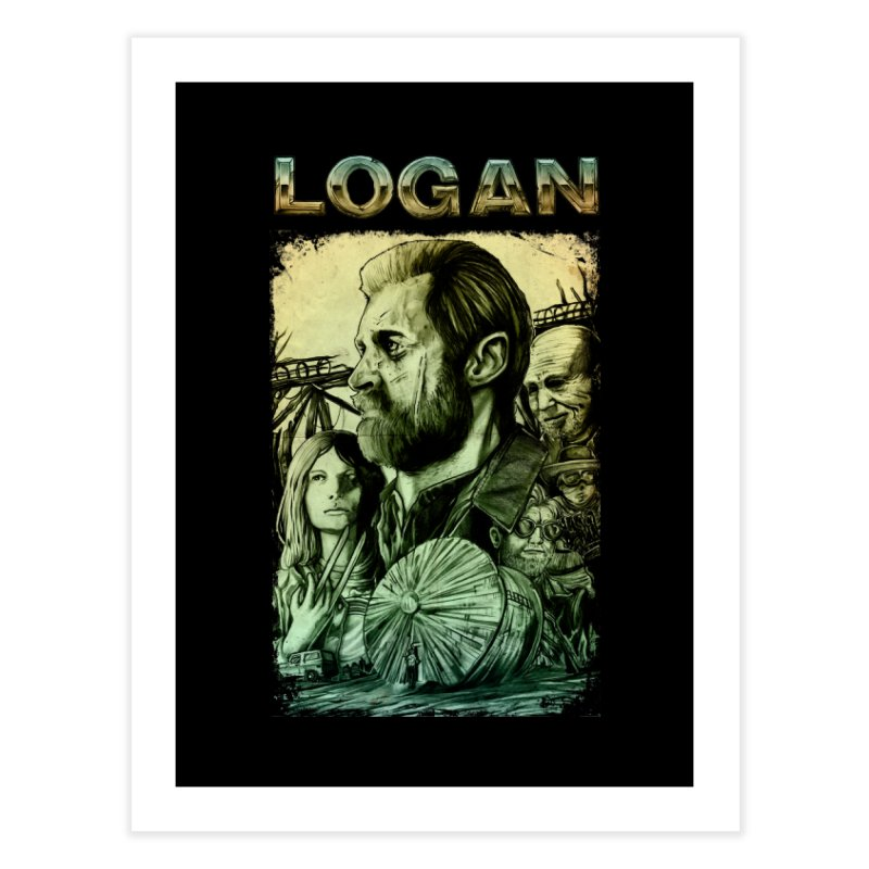 LOGAN - X23 Home Fine Art Print by T.JEF