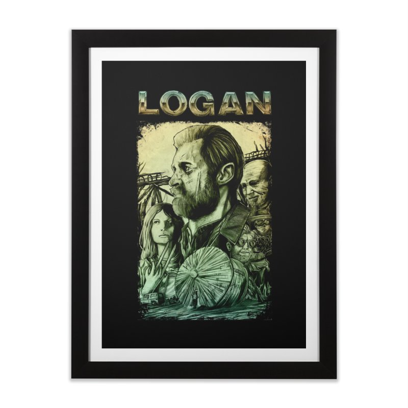 LOGAN - X23 Home Framed Fine Art Print by T.JEF