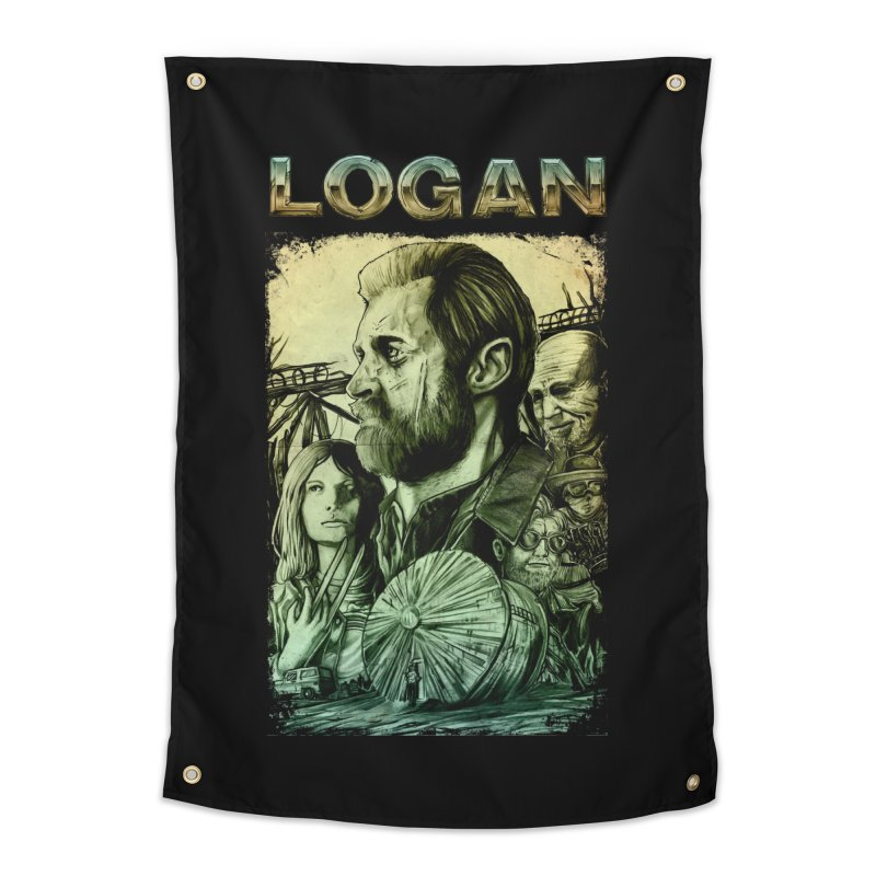 LOGAN - X23 Home Tapestry by T.JEF