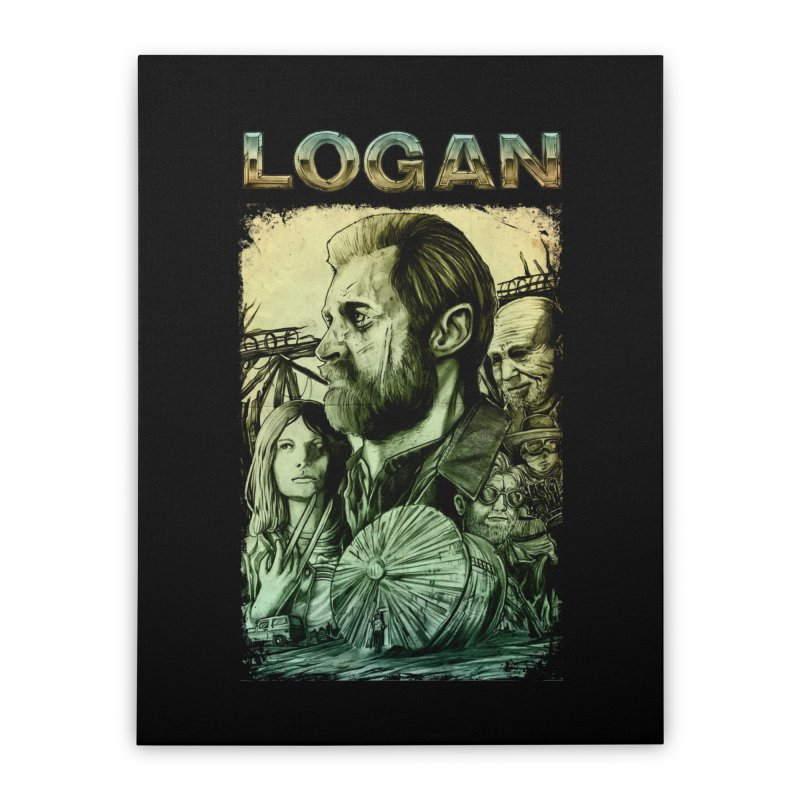 LOGAN - X23 Home Stretched Canvas by T.JEF