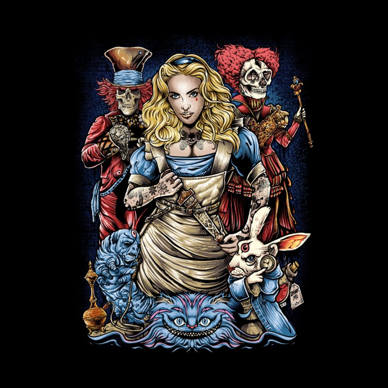 Alice Nigthmare Kids T-Shirt by T.JEF