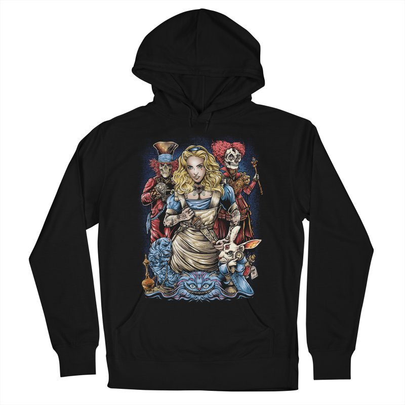 Alice Nigthmare Women's French Terry Pullover Hoody by T.JEF