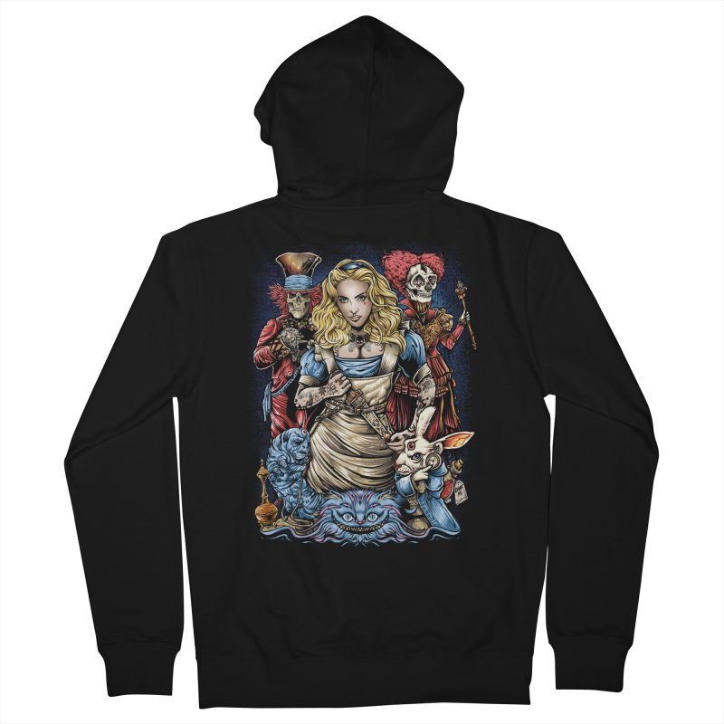 Alice Nigthmare Women's French Terry Zip-Up Hoody by T.JEF