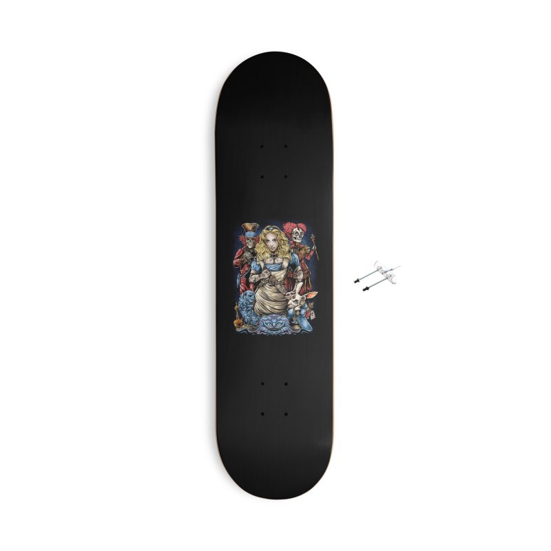 Alice Nigthmare Accessories With Hanging Hardware Skateboard by T.JEF
