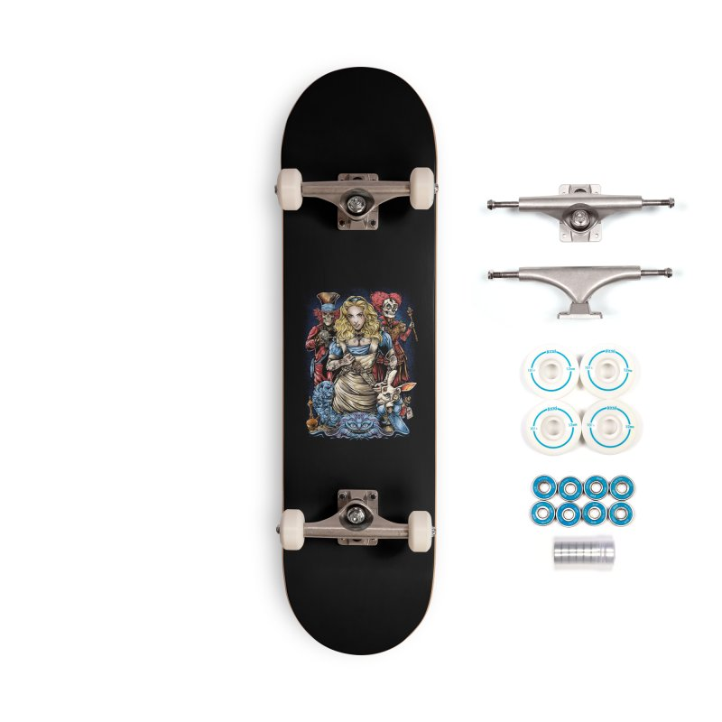 Alice Nigthmare Accessories Skateboard by T.JEF