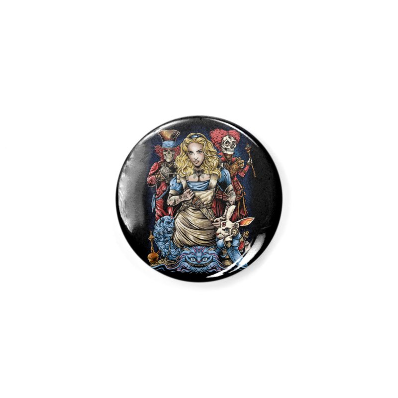 Alice Nigthmare Accessories Button by T.JEF