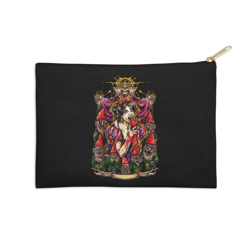 SNOW WHITE Accessories Zip Pouch by T.JEF