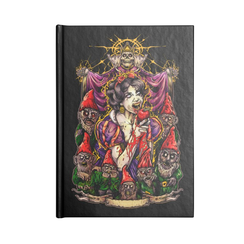 SNOW WHITE Accessories Blank Journal Notebook by T.JEF