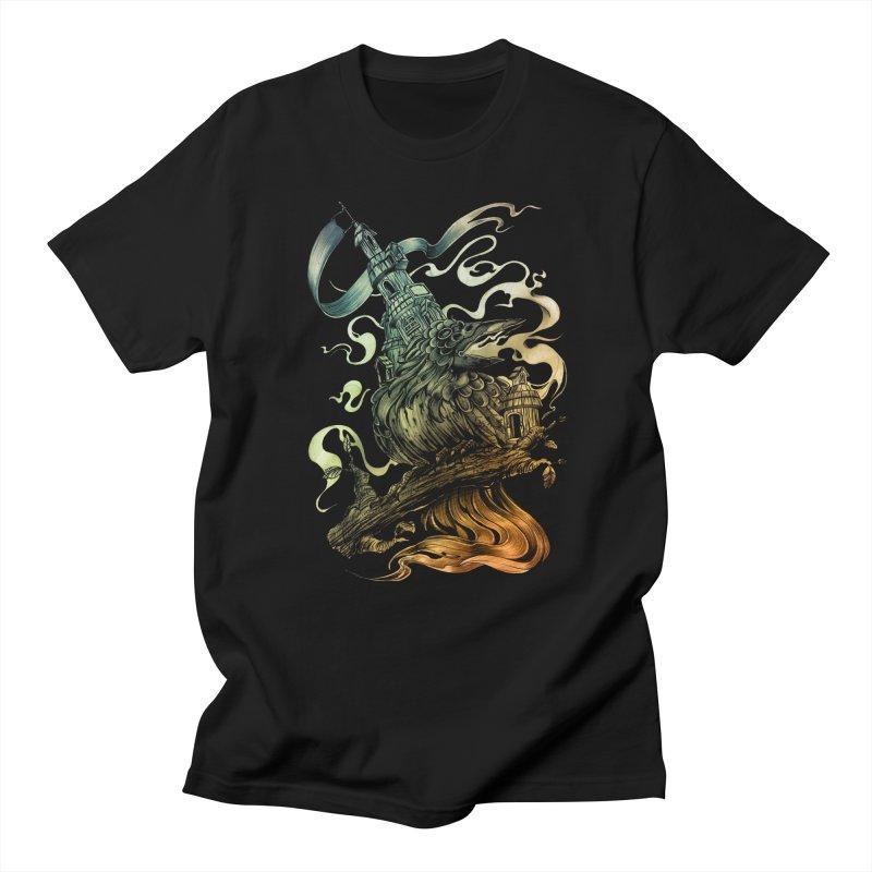 FIREBIRD  Men's T-Shirt by T.JEF