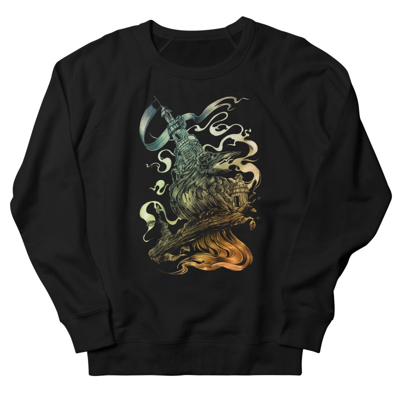 FIREBIRD  Men's French Terry Sweatshirt by T.JEF
