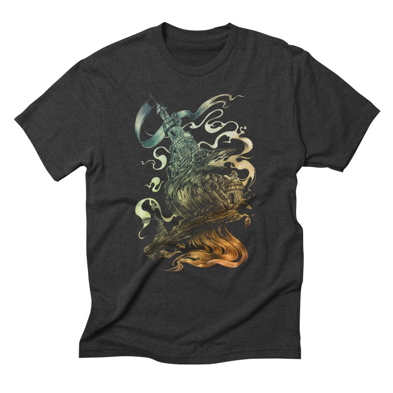 FIREBIRD  Men's T-Shirt by T.JEF