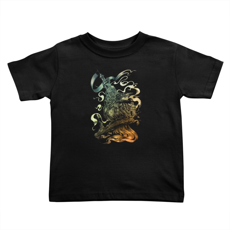 FIREBIRD  Kids Toddler T-Shirt by T.JEF