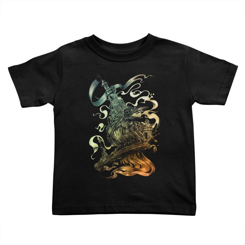 FIREBIRD  Kids Toddler T-Shirt by T.JEF