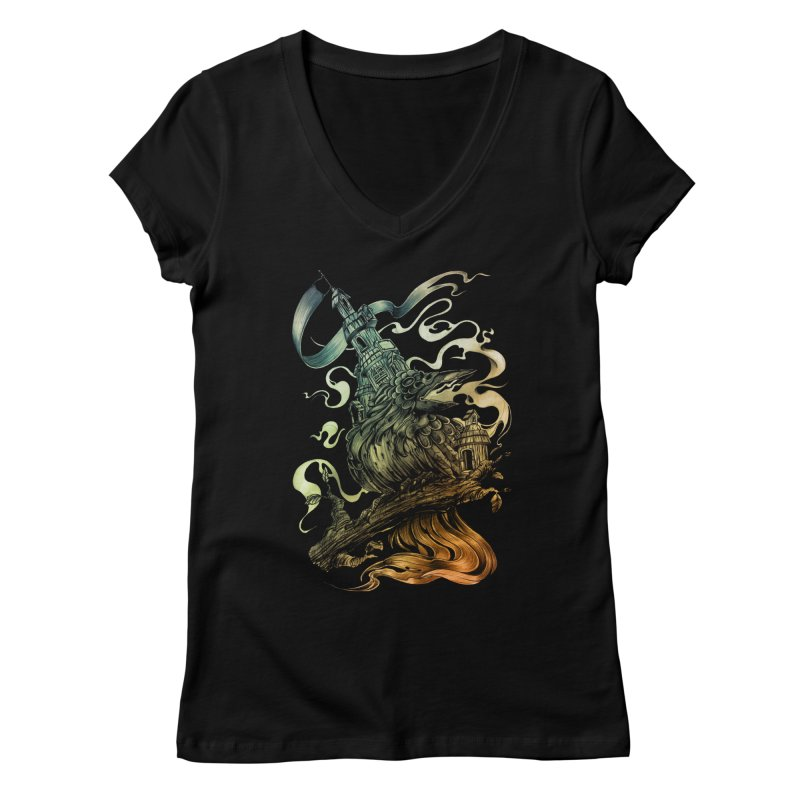 FIREBIRD  Women's V-Neck by T.JEF