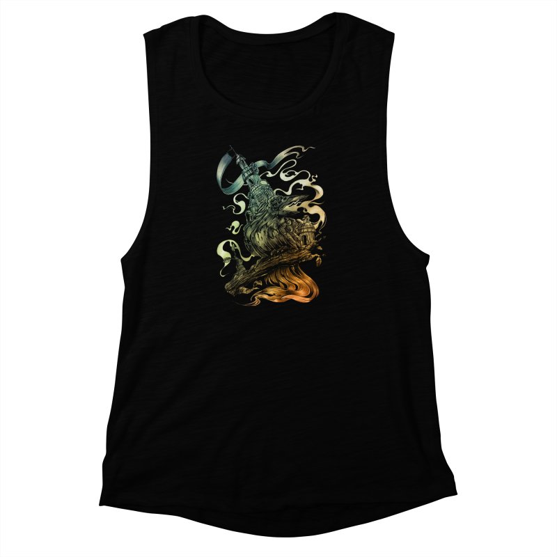 FIREBIRD  Women's Muscle Tank by T.JEF