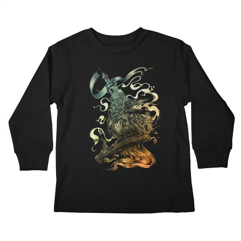 FIREBIRD  Kids Longsleeve T-Shirt by T.JEF