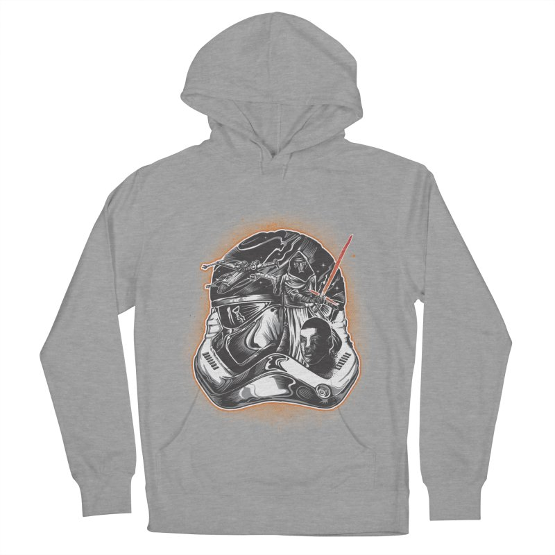 força desperta Men's French Terry Pullover Hoody by T.JEF