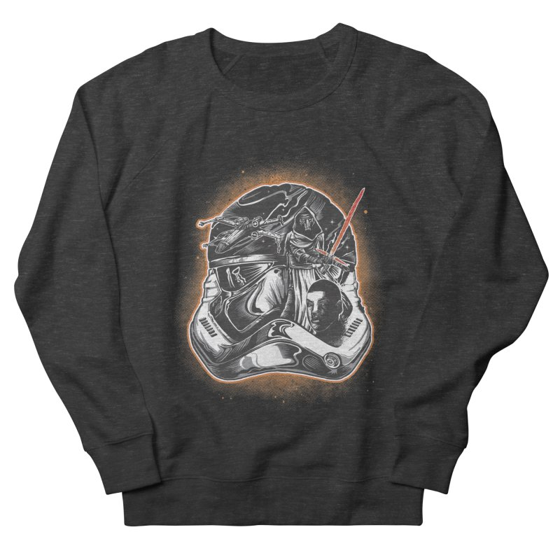 força desperta Men's French Terry Sweatshirt by T.JEF