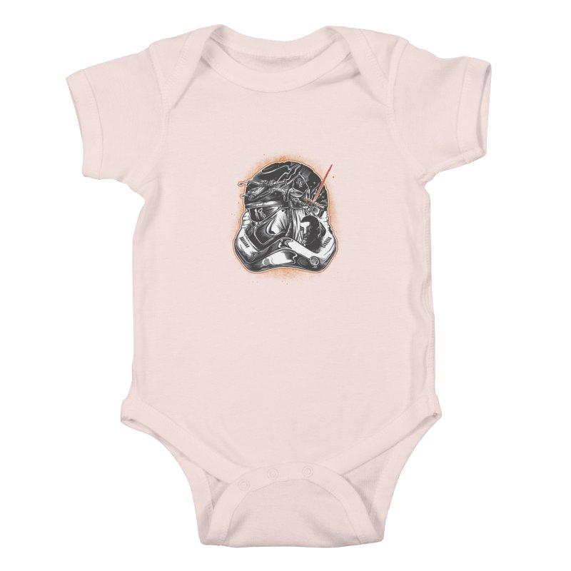 força desperta Kids Baby Bodysuit by T.JEF