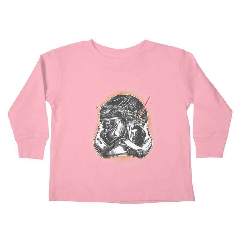 força desperta Kids Toddler Longsleeve T-Shirt by T.JEF