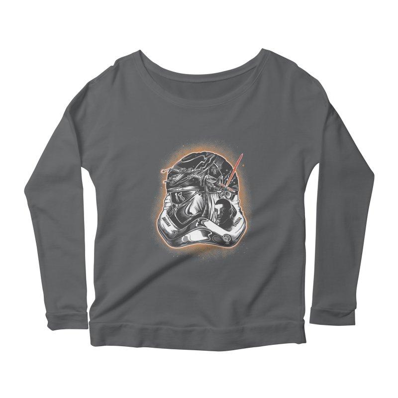 força desperta Women's Scoop Neck Longsleeve T-Shirt by T.JEF