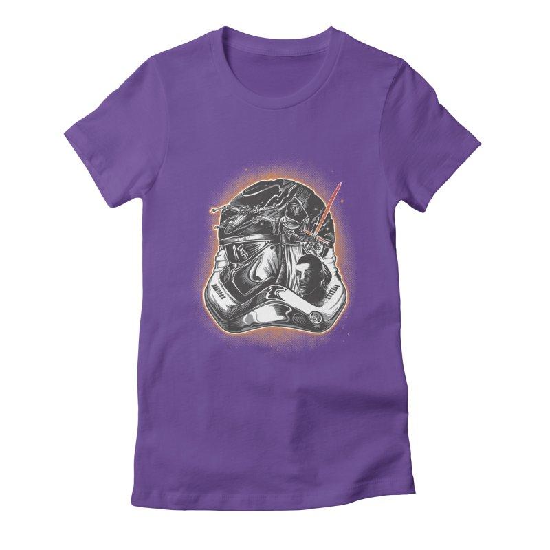 força desperta Women's Fitted T-Shirt by T.JEF
