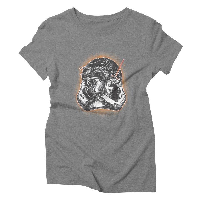 força desperta Women's Triblend T-Shirt by T.JEF