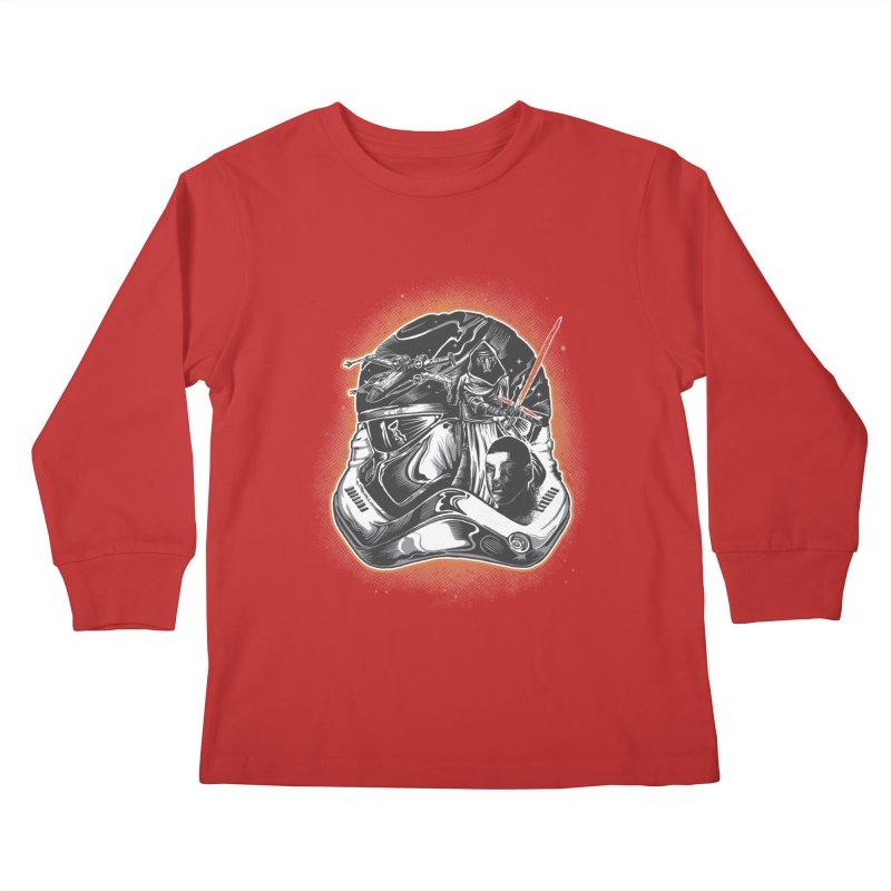 força desperta Kids Longsleeve T-Shirt by T.JEF