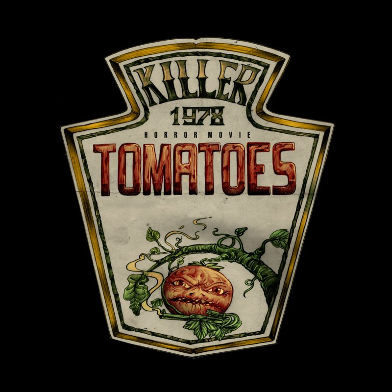 KILLER TOMATOES  Home Fine Art Print by T.JEF