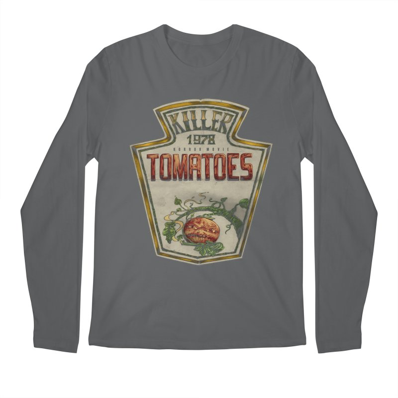 KILLER TOMATOES  Men's Regular Longsleeve T-Shirt by T.JEF