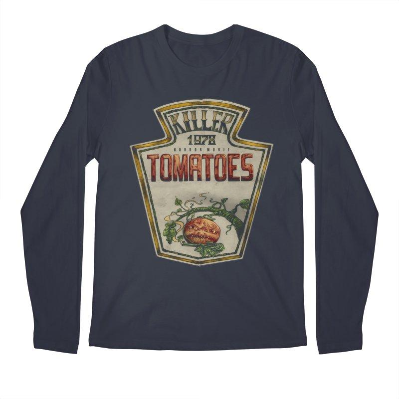 KILLER TOMATOES  Men's Longsleeve T-Shirt by T.JEF