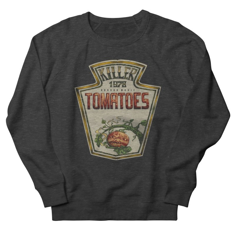KILLER TOMATOES  Women's French Terry Sweatshirt by T.JEF