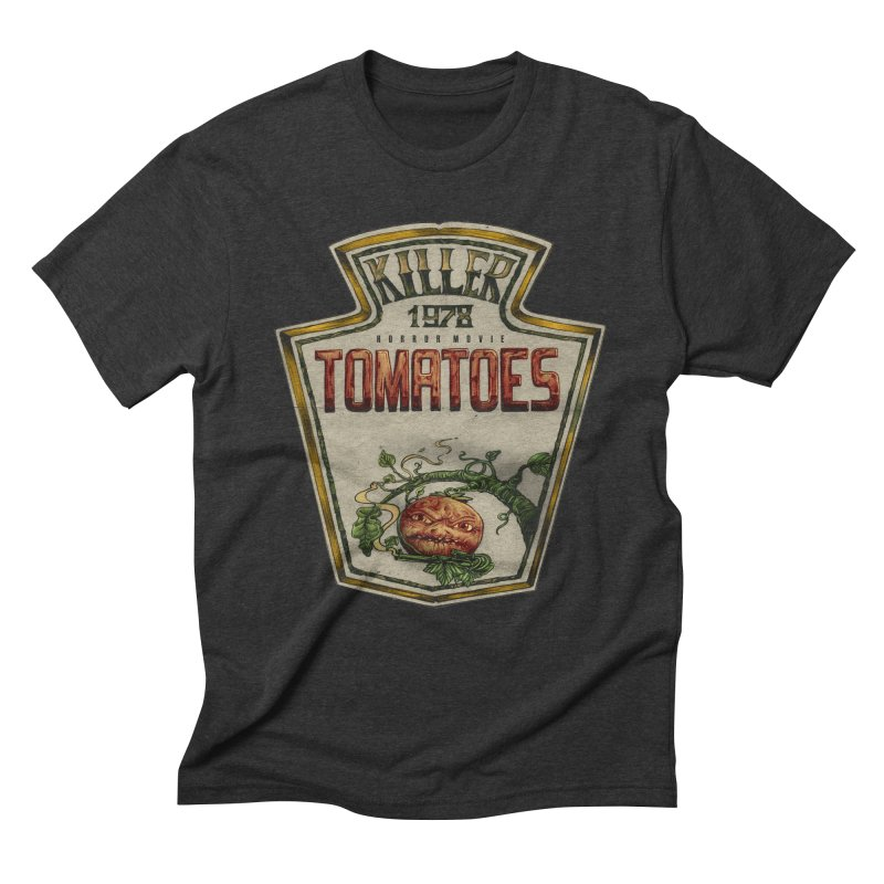 KILLER TOMATOES  Men's Triblend T-Shirt by T.JEF