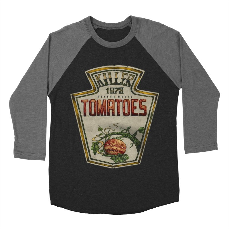 KILLER TOMATOES  Women's Baseball Triblend Longsleeve T-Shirt by T.JEF