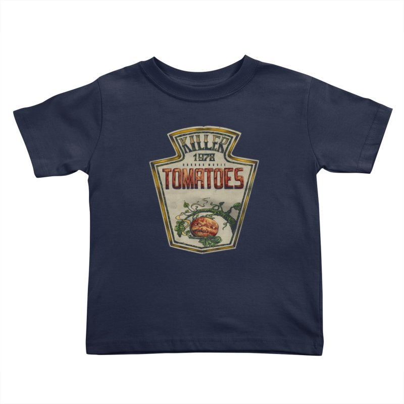 KILLER TOMATOES  Kids Toddler T-Shirt by T.JEF