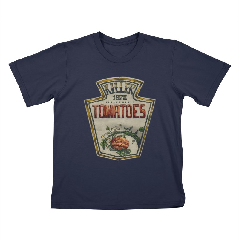 KILLER TOMATOES  Kids T-shirt by T.JEF