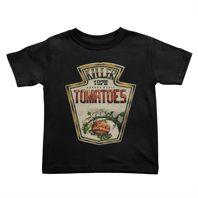 KILLER TOMATOES  Kids Toddler T-Shirt by T.JEF