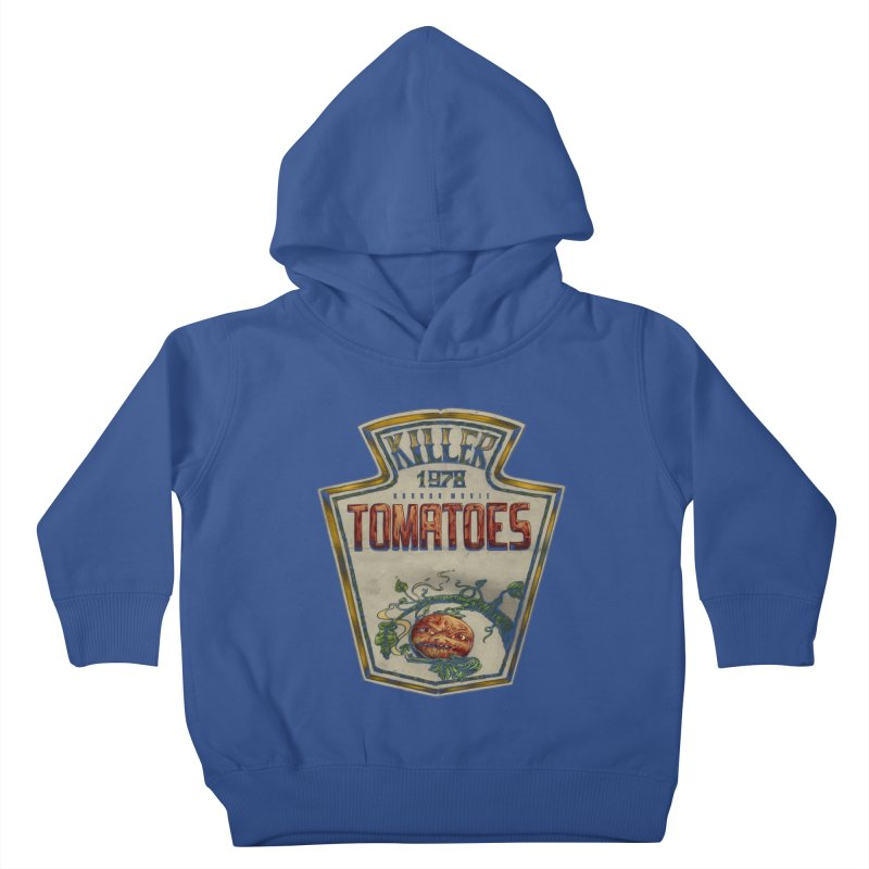 KILLER TOMATOES  Kids Toddler Pullover Hoody by T.JEF