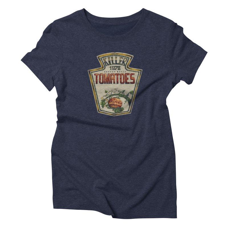 KILLER TOMATOES  Women's T-Shirt by T.JEF