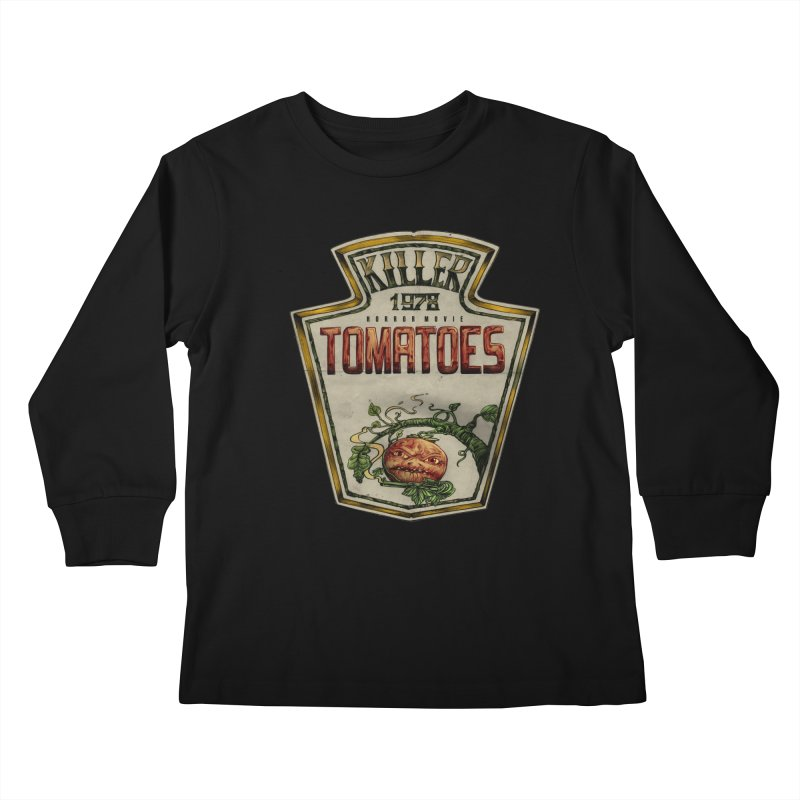 KILLER TOMATOES  Kids Longsleeve T-Shirt by T.JEF