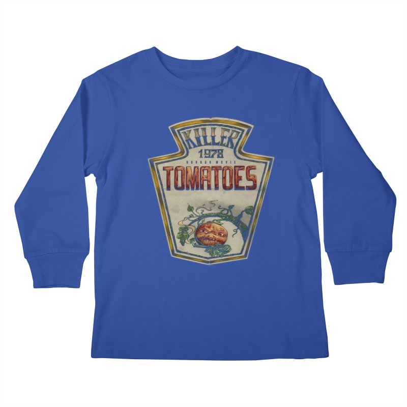 KILLER TOMATOES  Kids Longsleeve T-Shirt by T.JEF