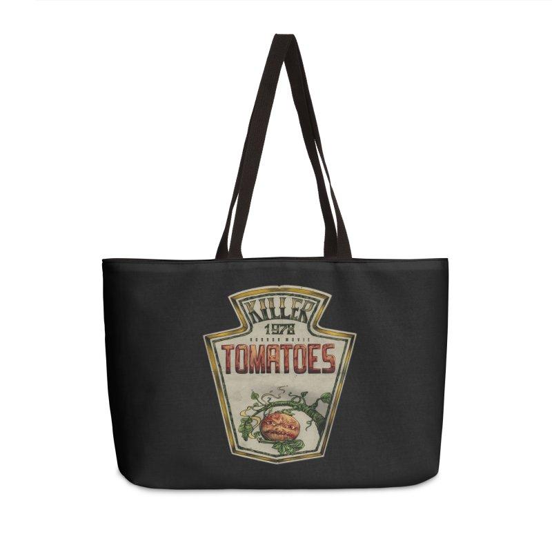 KILLER TOMATOES  Accessories Weekender Bag Bag by T.JEF