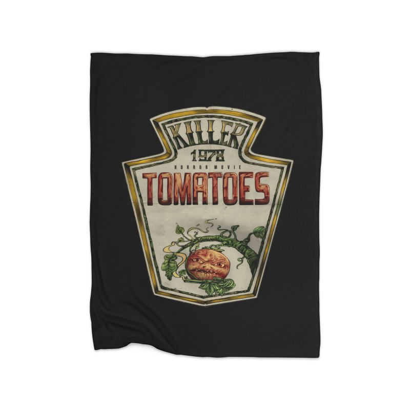 KILLER TOMATOES  Home Blanket by T.JEF