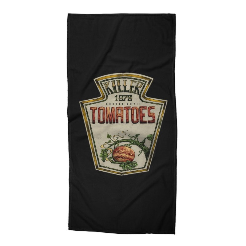 KILLER TOMATOES  Accessories Beach Towel by T.JEF