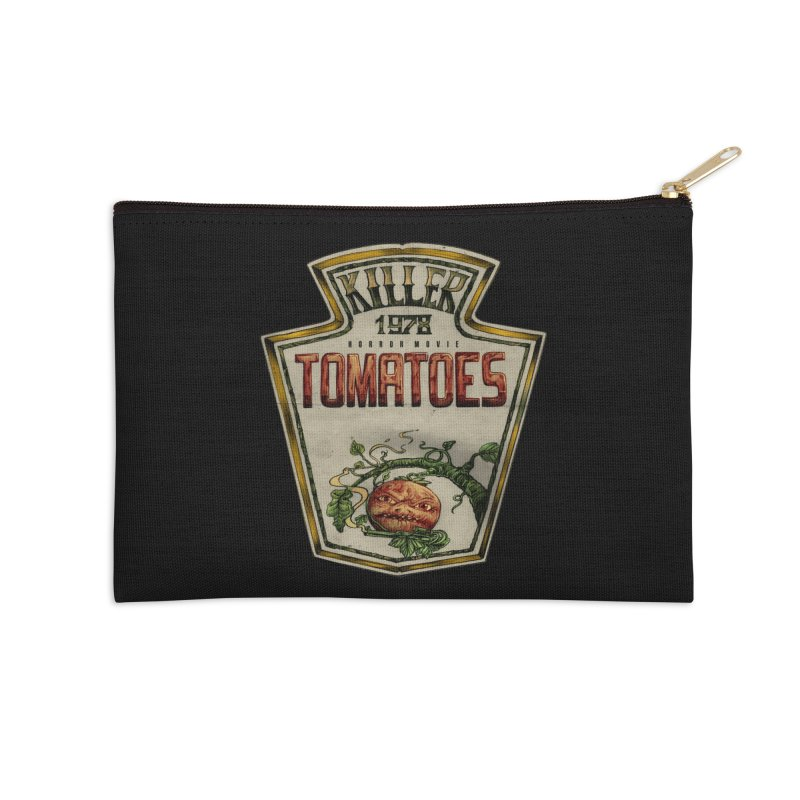 KILLER TOMATOES  Accessories Zip Pouch by T.JEF